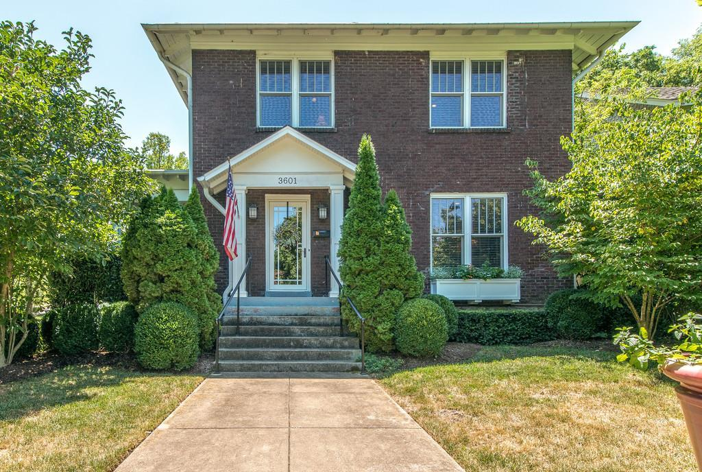 Photo of home for sale at 3601 Central Ave, Nashville TN