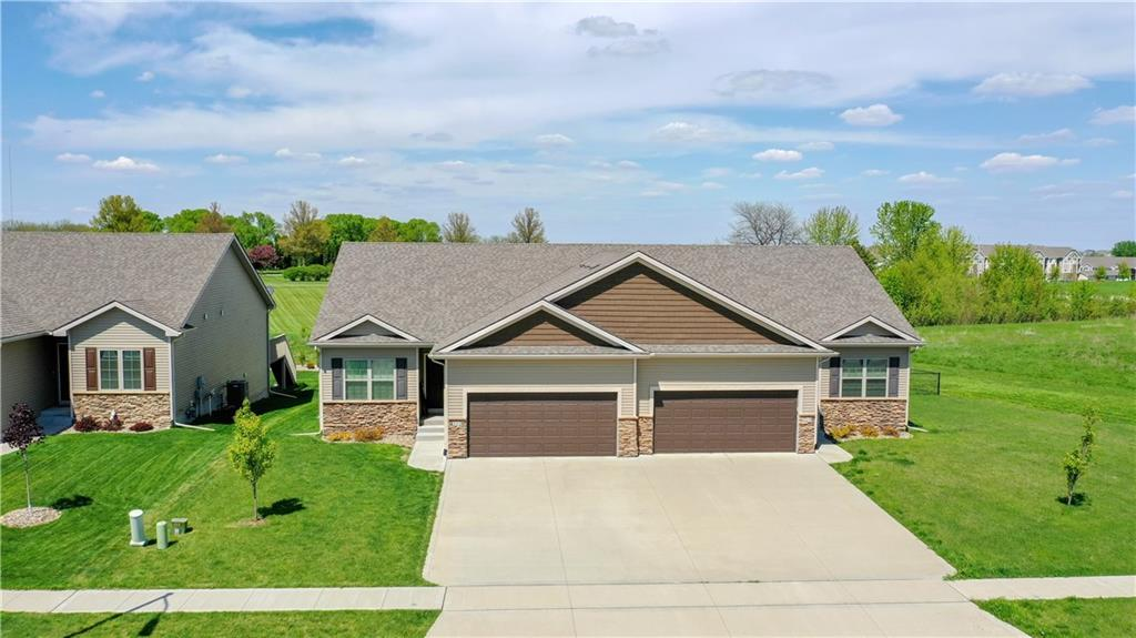 Photo of home for sale at 212 Autumn Crest Drive NW, Ankeny IA