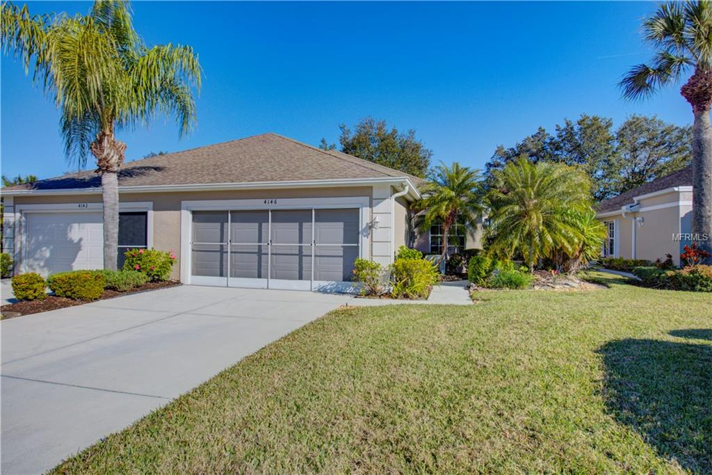 Photo of home for sale at 4146 FAIRWAY PLACE, North Port FL