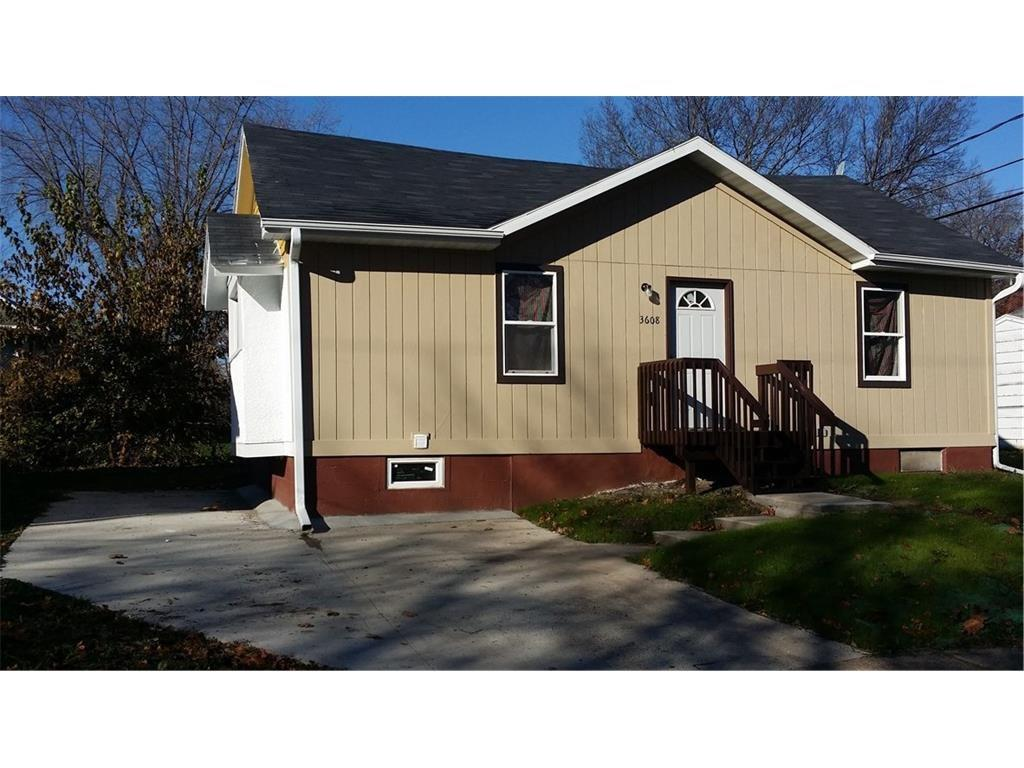 Photo of home for sale at 3608 9th Street, Des Moines IA