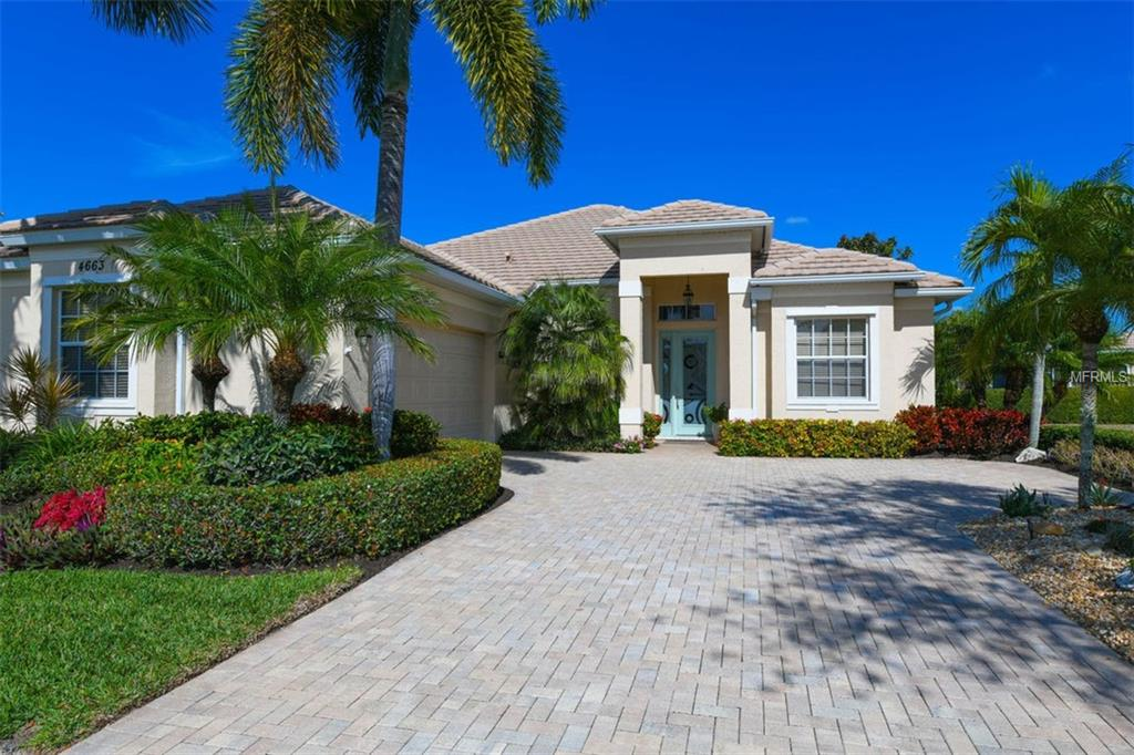 Photo of home for sale at 4663 GAETA DRIVE, Venice FL
