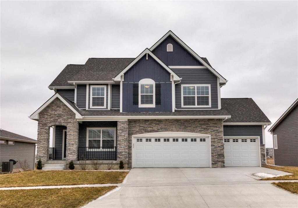 Photo of home for sale at 9640 Marnewood Drive, Johnston IA