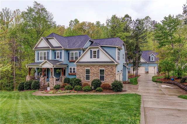 Photo of home for sale at 1191 Misty Creek Drive, Iron Station NC