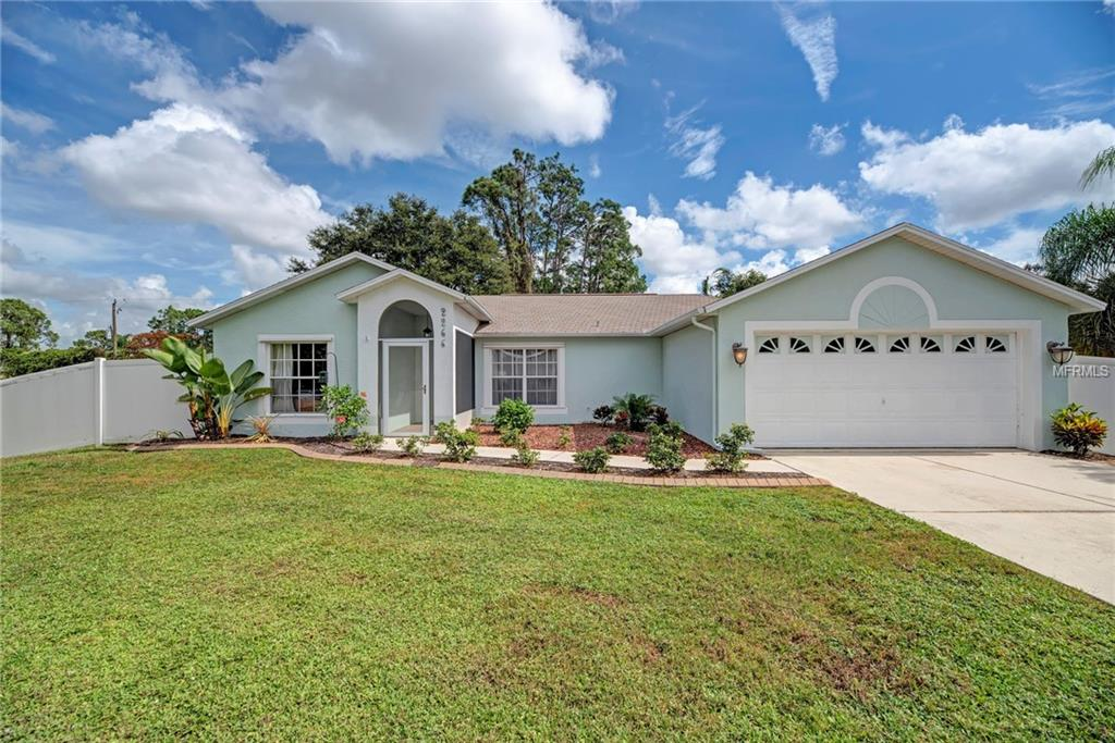 Photo of home for sale at 2266 RIBBLE STREET, North Port FL