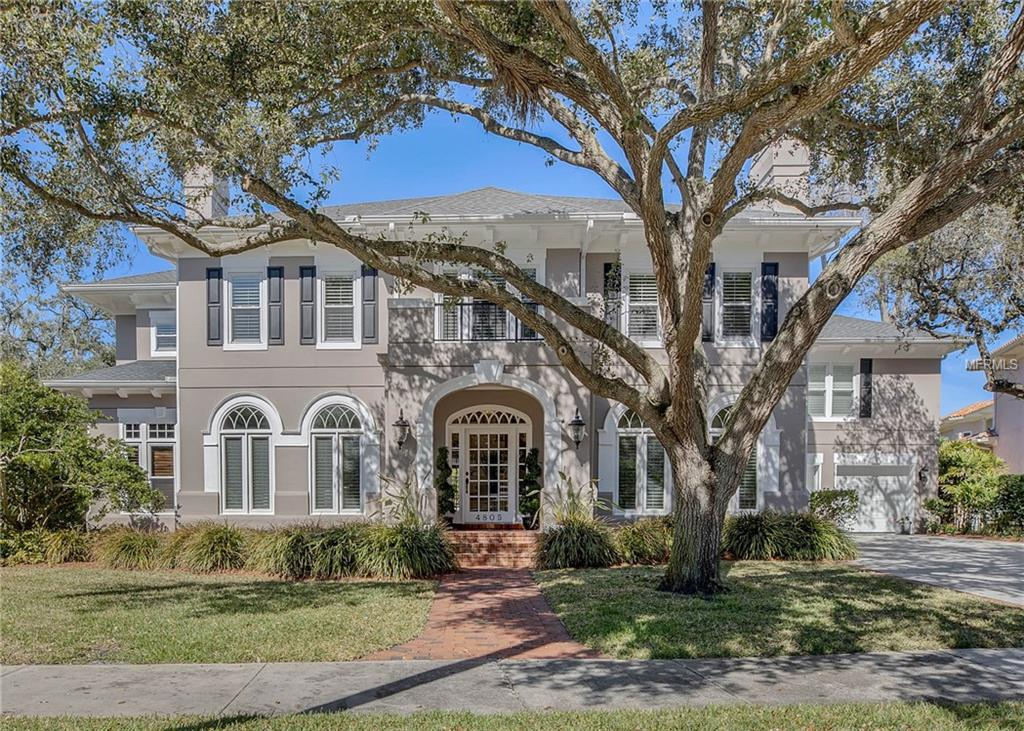 Photo of home for sale at 4805 WOODMERE ROAD W, Tampa FL