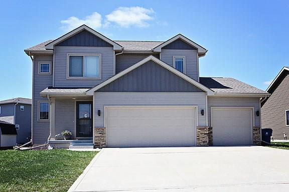 Photo of home for sale at 808 Autumn Park Drive NW, Grimes IA