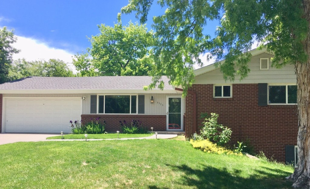 Photo of home for sale at 3575 Miller Street, Wheat Ridge CO