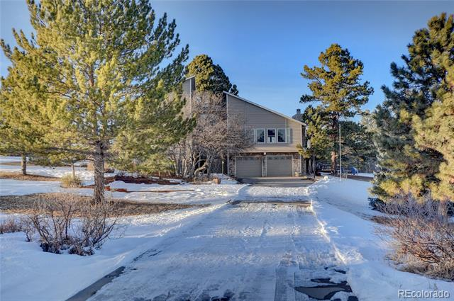 Photo of home for sale at 2190 Cedar Court, Franktown CO