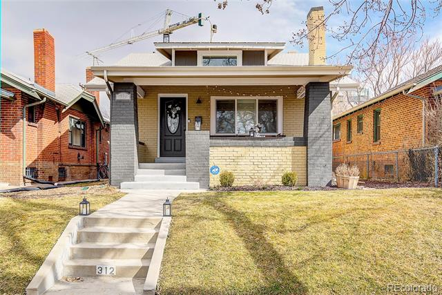 Photo of home for sale at 312 Sherman Street North, Denver CO