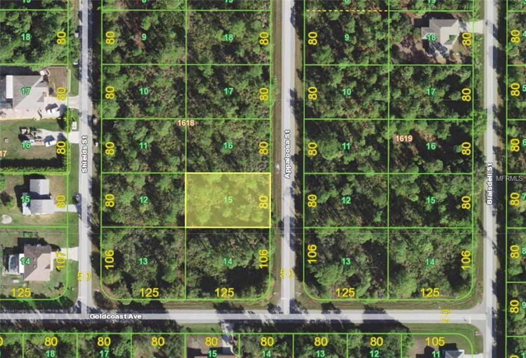 Photo of home for sale at 1455 APPALOOSA STREET, Port Charlotte FL