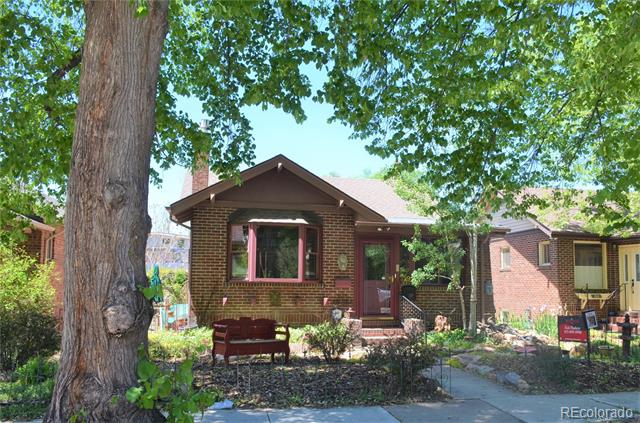 Photo of home for sale at 329 Franklin Street South, Denver CO