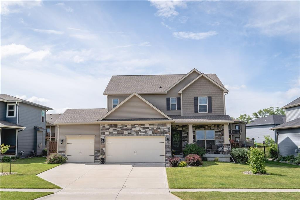 Photo of home for sale at 16830 Prairie Drive, Clive IA