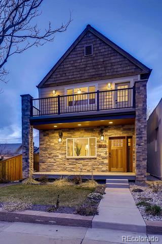 Photo of home for sale at 3549 Lipan Street, Denver CO