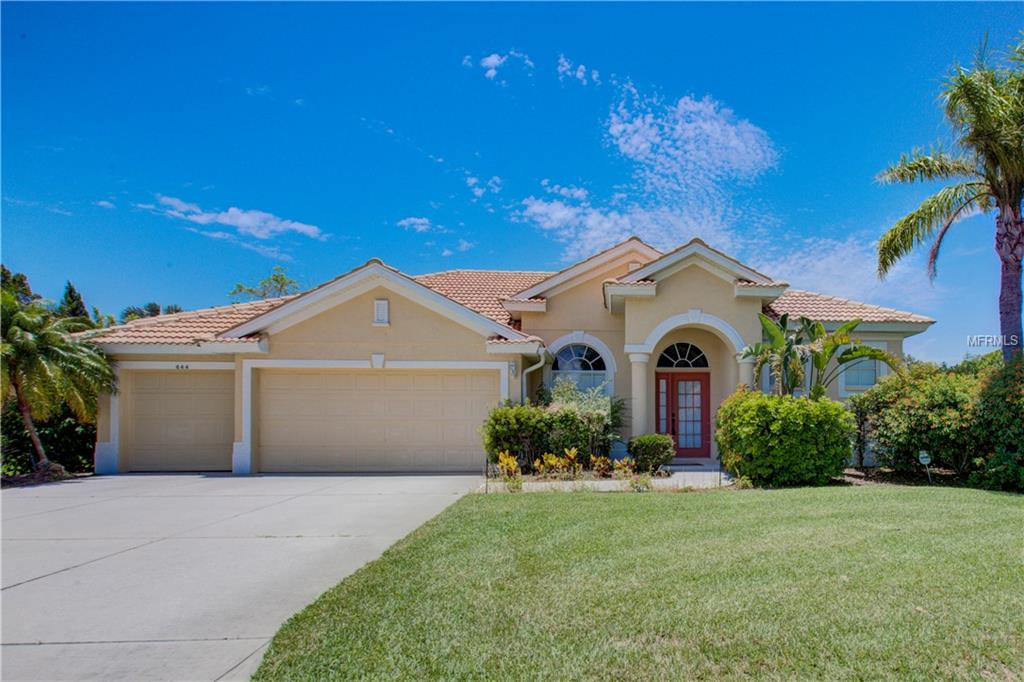 Photo of home for sale at 644 RIVENDELL BOULEVARD, Osprey FL