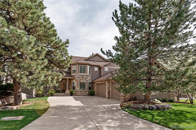 Photo of home for sale at 964 Greenridge Lane, Castle Pines CO