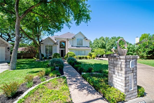 Photo of home for sale at 4502 Wild Dunes CT, Austin TX