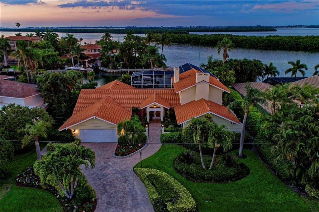 Photo of home for sale at 771 EMERALD HARBOR DRIVE, Longboat Key FL