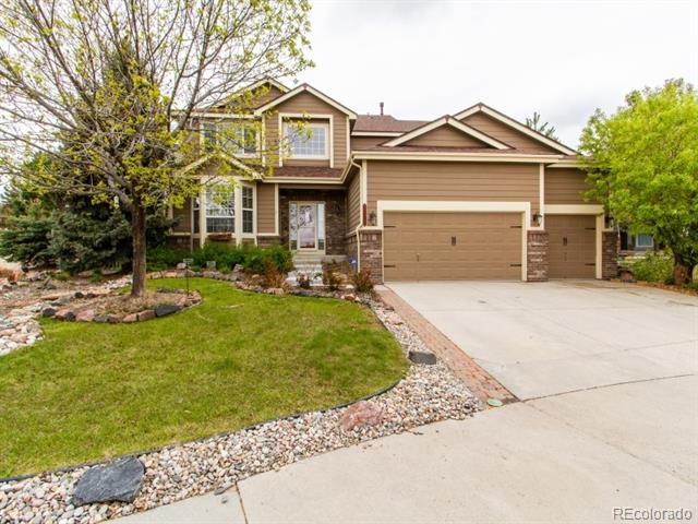 Photo of home for sale at 1255 Bulrush Drive, Castle Rock CO