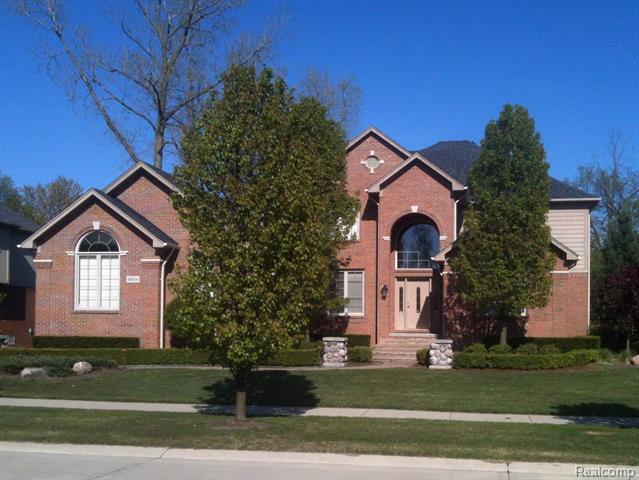 Photo of home for sale at 49754 Decker Drive, Shelby Township MI