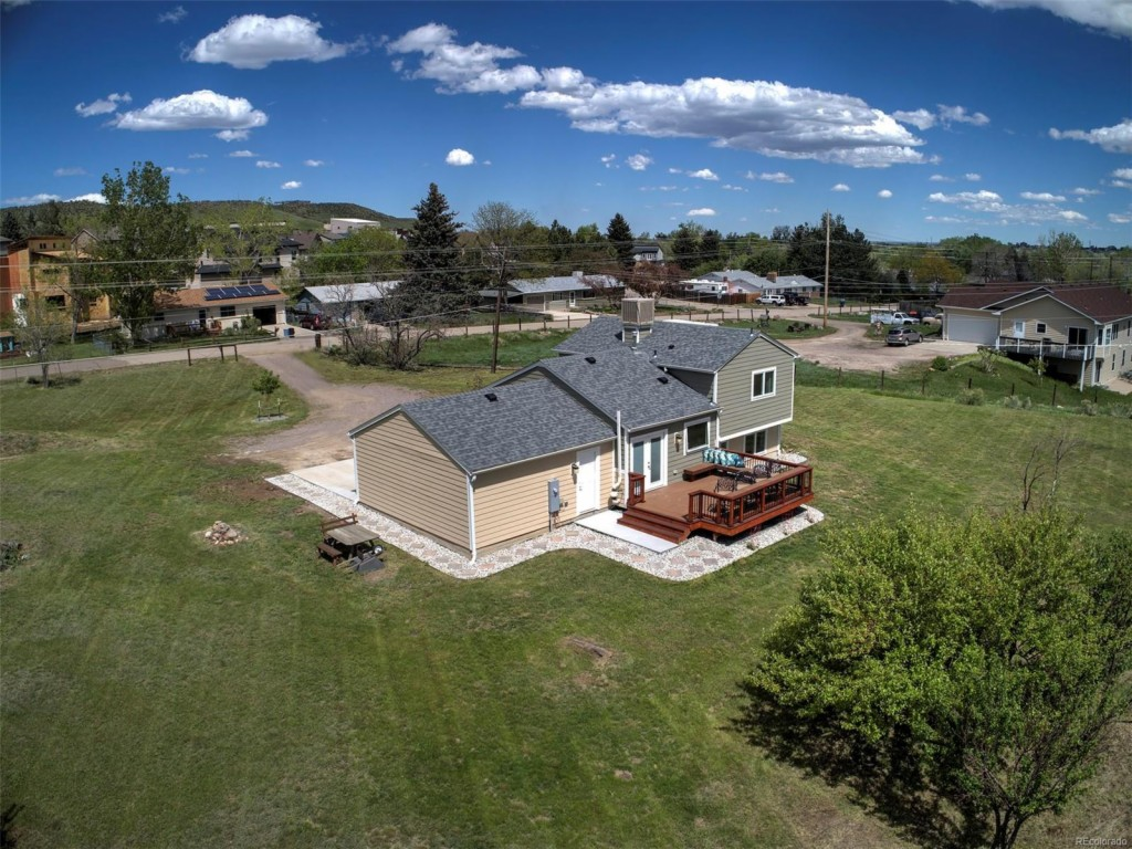 Photo of home for sale at 16590 12th Place W, Golden CO