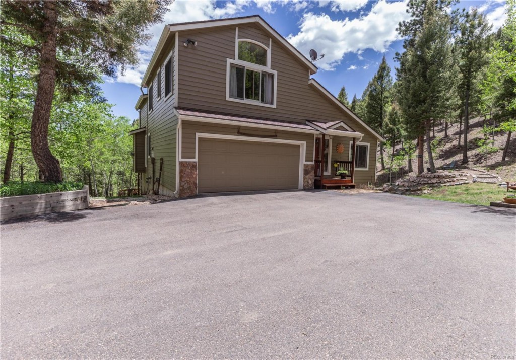 Photo of home for sale at 14137 Wamblee Trail, Conifer CO