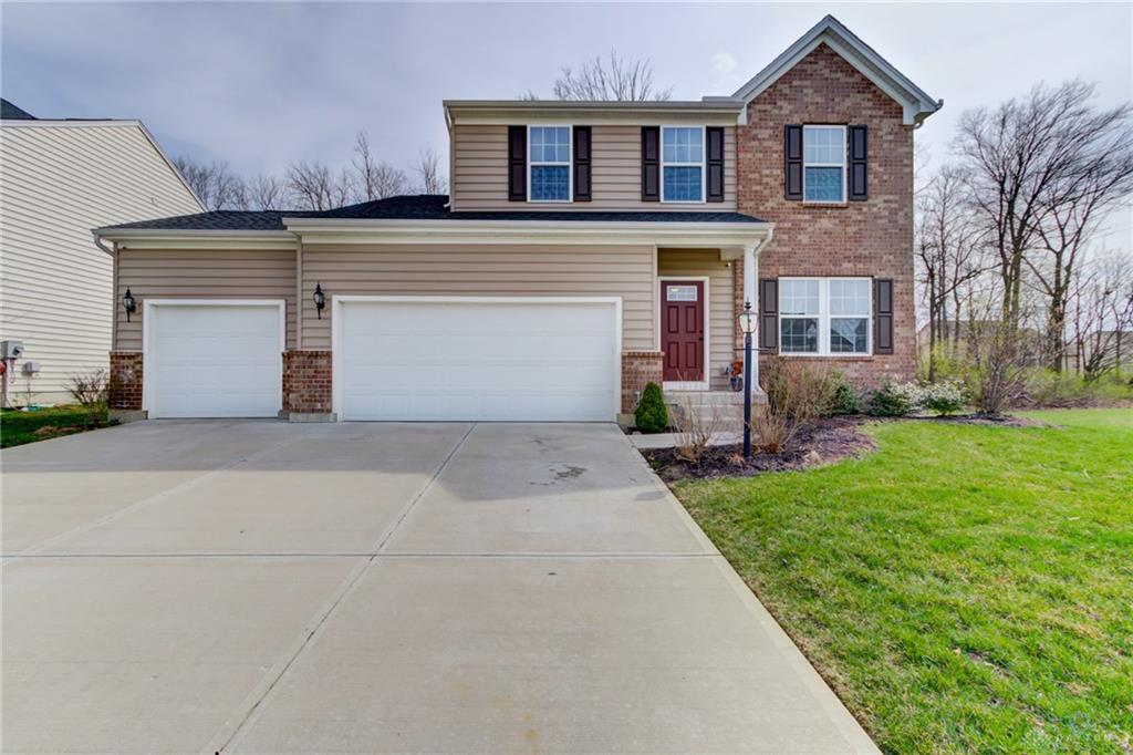 Photo of home for sale at 8172 Bushclover Drive, Tipp City OH