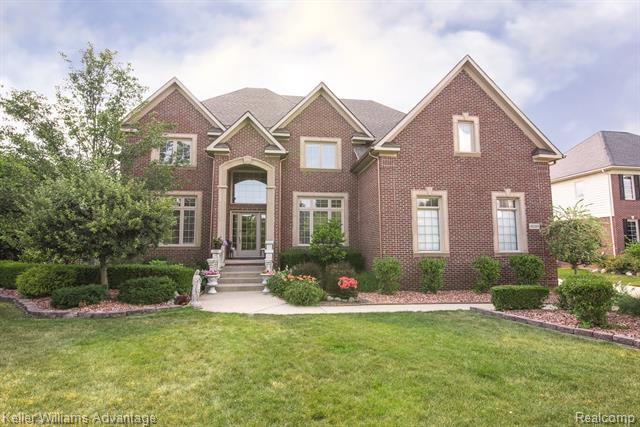 Photo of home for sale at 44269 Deep Hollow Circle, Northville Township MI