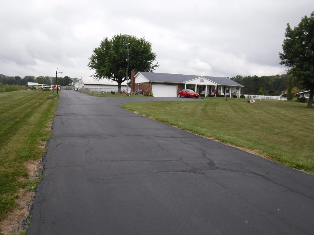Photo of home for sale at 7661 Number Nine Road, Brookville OH