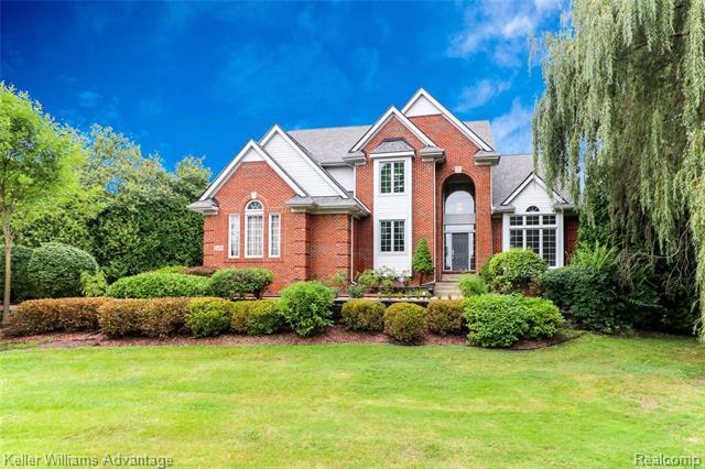 Photo of home for sale at 22495 Southwyck Court, Novi MI