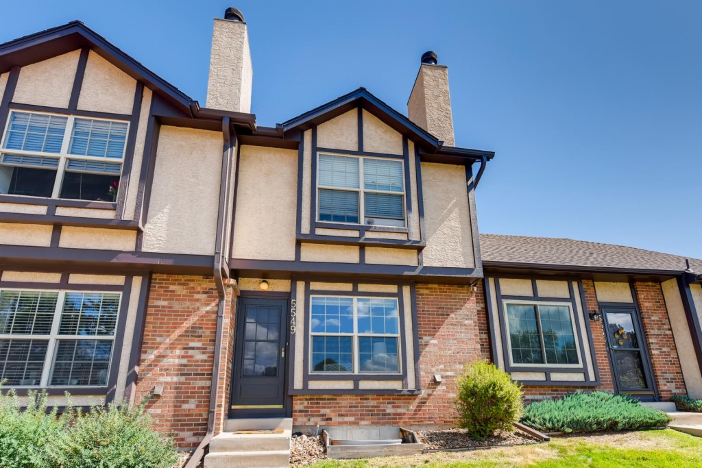 Photo of home for sale at 5549 Tamworth Drive, Colorado Springs CO