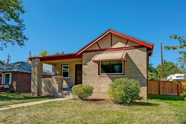 Photo of home for sale at 933 Harrison Street, Denver CO
