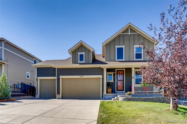 Photo of home for sale at 11617 Yellow Daisy Drive, Parker CO