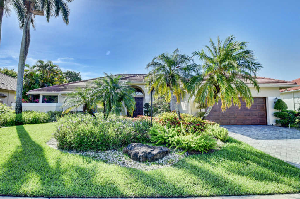 Photo of home for sale at 17688 Charnwood Drive, Boca Raton FL