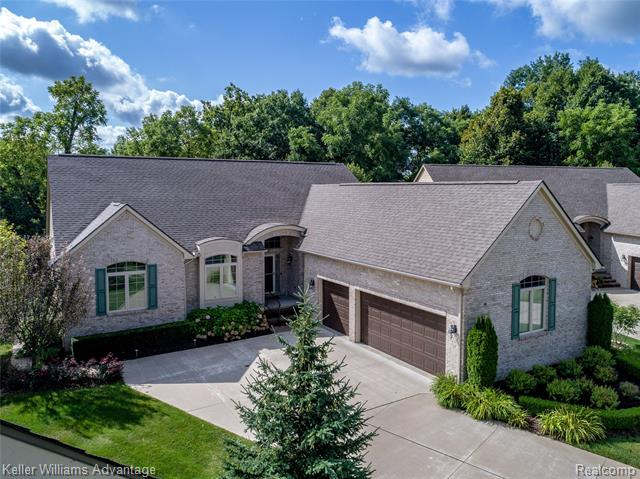Photo of home for sale at 25228 Sutton Court, Novi MI