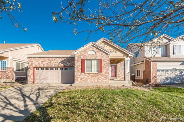 Photo of home for sale at 15771 96th Place E, Commerce City CO