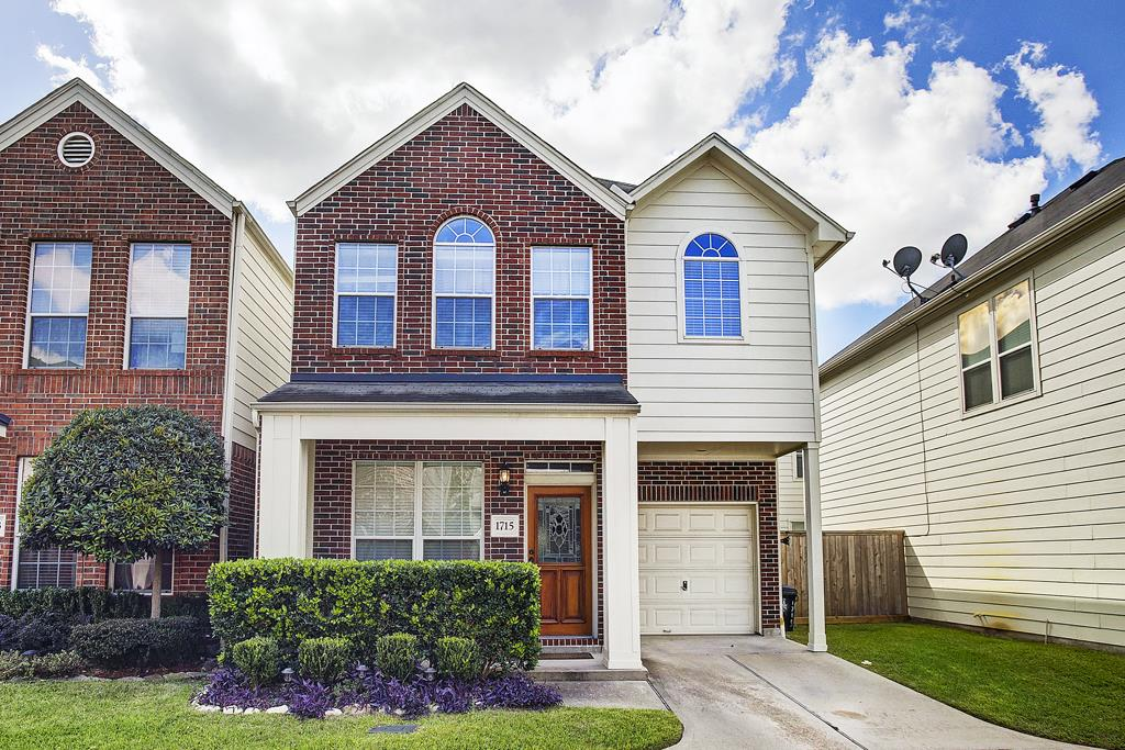 Photo of home for sale at 1715 Aden Drive, Houston TX