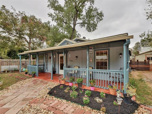 Photo of home for sale at 3405 Charles ST, Austin TX