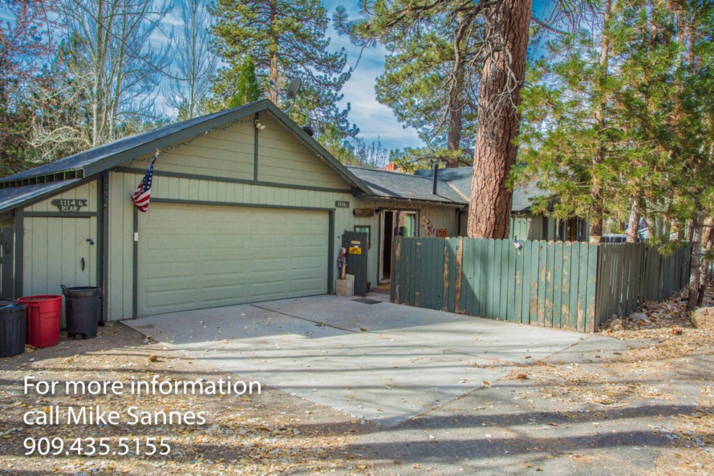 Photo of home for sale at 1114 Comanche Drive, Fawnskin CA