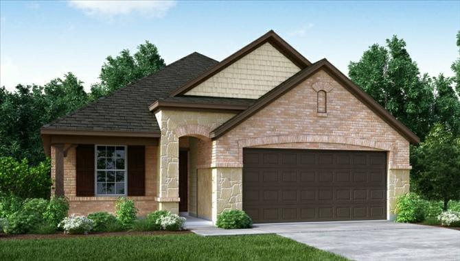 Photo of home for sale at 8130 Lockridge Terrace, Cypress TX
