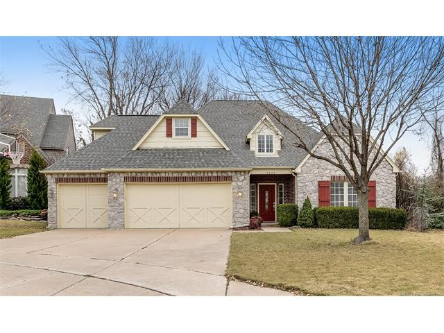 Photo of home for sale at 9139 117th Street E, Bixby OK