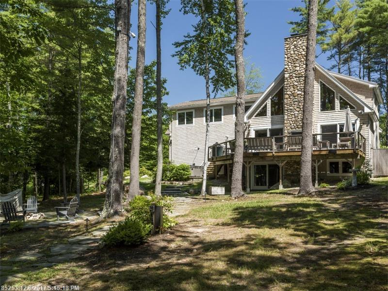 Photo of home for sale at 27 Rich Way, Sebago ME