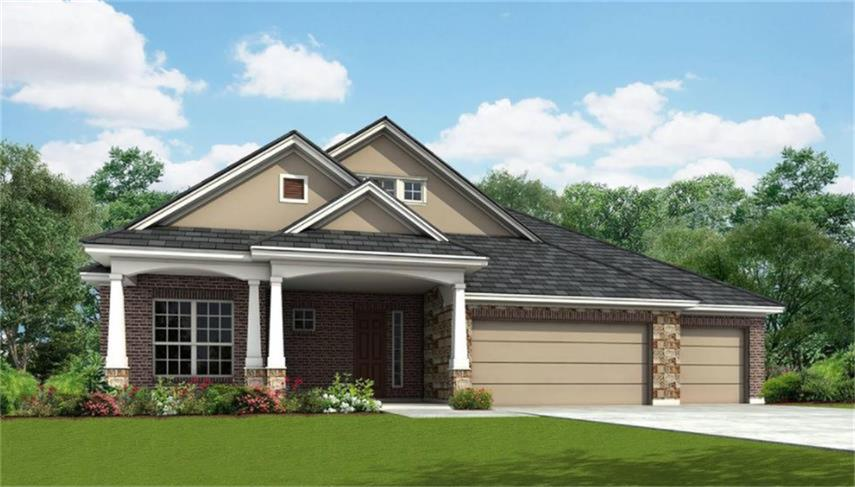 Photo of home for sale at 2057 Brookmont, Conroe TX