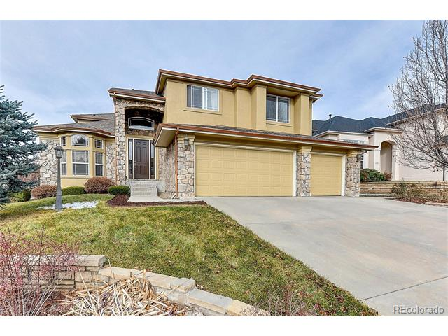 Photo of home for sale at 923 Foursome Drive, Castle Rock CO