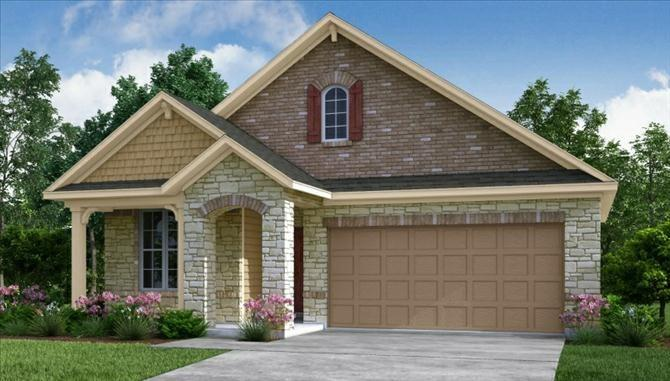 Photo of home for sale at 14935 Cutleaf, Cypress TX