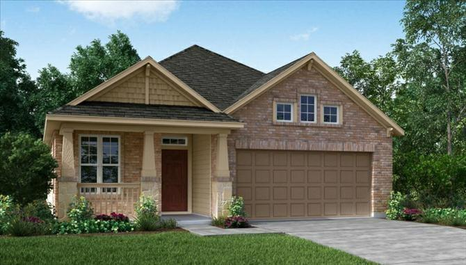 Photo of home for sale at 14931 Cutleaf, Cypress TX