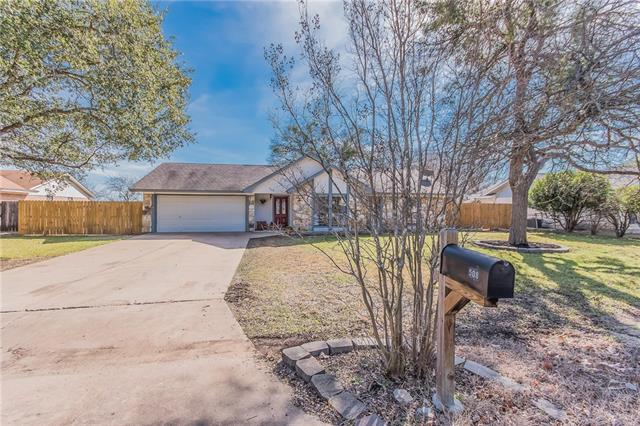 Photo of home for sale at 508 Toledo TRL, Georgetown TX