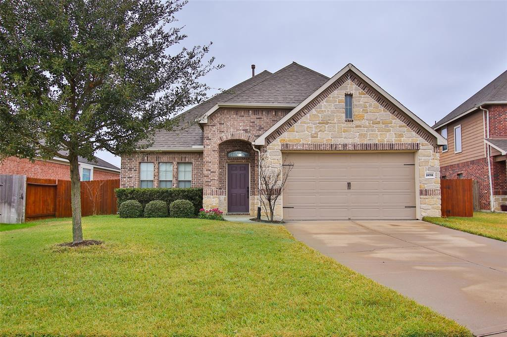 Photo of home for sale at 24706 Nautical Mile Lane, Katy TX