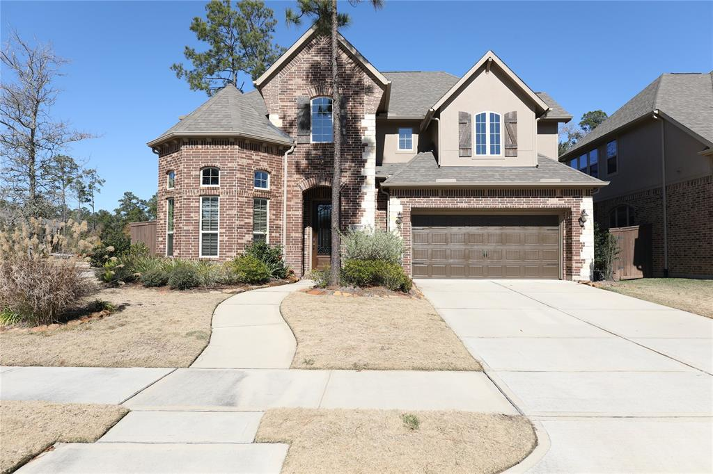 Photo of home for sale at 13803 Saddlers Woods Drive, Humble TX