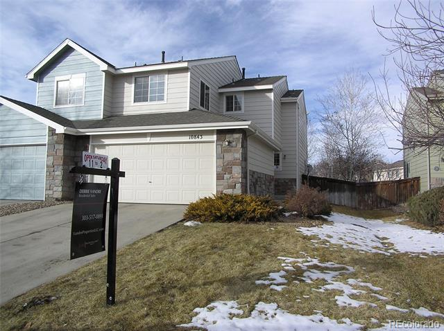 Photo of home for sale at 10843 96th Place E, Commerce City CO
