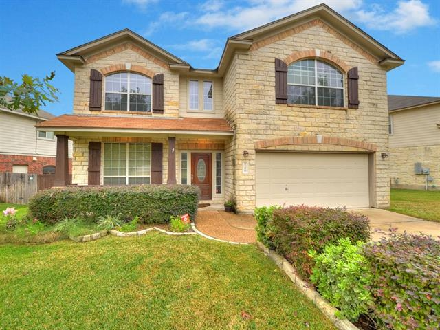Photo of home for sale at 8206 Menlo Park PL, Round Rock TX